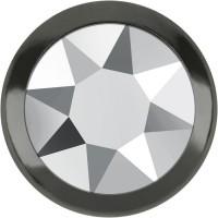 Xirius Rose Framed Hotfix Strass ss16 Crystal Light Chrome HF Gun Metal Ring (GM)