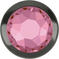 Xirius Rose Framed Hotfix Strass ss16 Light Rose HF Silver Ring (SR)