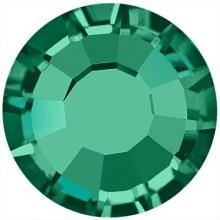 Rose Hotfix Strass bleifrei ss20 Emerald HF