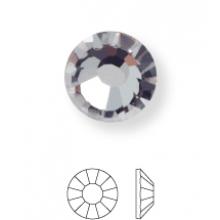 Rose Hotfix Strassstein ss16 Black Diamond HF