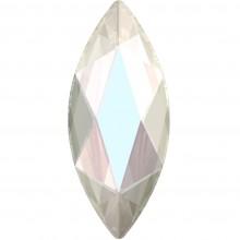 Marquise Hotfix Strass 14x6mm Crystal AB HF
