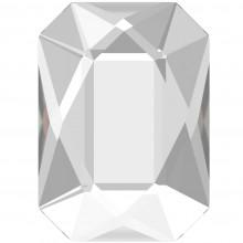 Emerald Cut Strassstein 14x10mm Crystal F