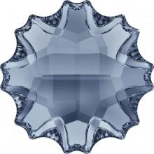 Jelly Fish Strassstein teilweise mattiert 10mm Crystal Blue Shade F