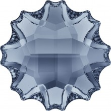Jelly FishHotfix Strass teilweise mattiert 10mm Crystal Blue Shade HF