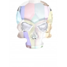 Skull Strassstein 14x10.5mm Crystal AB F