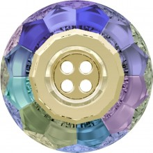 Classic Crystal Button (4 holes) 14mm Crystal Paradise Shine F