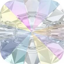 Rivoli Square Crystal Button 14mm Crystal AB F