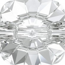 Rivoli Square Crystal Button 14mm Crystal F