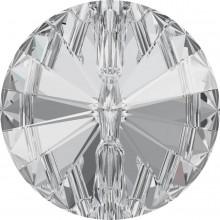 Rivoli Button 18mm Crystal F
