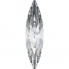 Navette Fancy Stone 15x4mm Crystal F