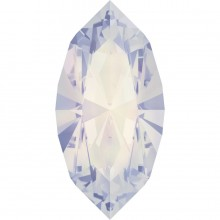 Xilion Navette 15x7mm White Opal F
