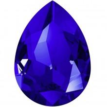 Pear Fancy Stone 18x13mm Majestic Blue