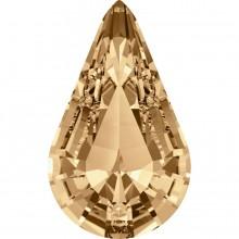 Xilion Pear 10x6mm Crystal Golden Shadow F