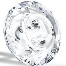 Maxima Button 2 Loch 12mm Crystal F