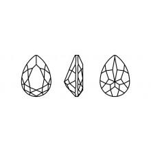 Maxima Pearshape 301 10x7mm Crystal F