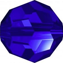 Round Perle (Großloch) 6mm Majestic Blue