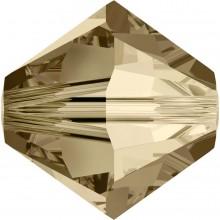 Xilion Perle 4mm Crystal Golden Shadow