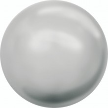 Crystal Round Peal 3mm Crystal Light Grey Pearl