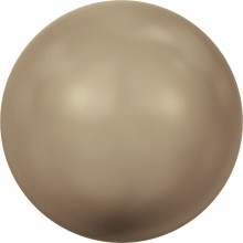 Crystal Round Pearl 4mm Crystal Bronze Pearl