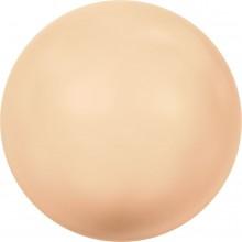 Crystal Round Pearl 4mm Crystal Peach Pearl