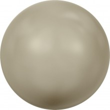 Crystal Round Pearl 3mm Crystal Platinum Pearl