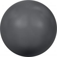 Crystal Round Pearl 3mm Crystal Dark Grey Pearl