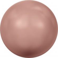 Crystal Round Pearl 4mm Crystal Rose Peach Pearl