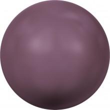 Crystal Pearl (large hole) 14mm Crystal Burgundy Pearl