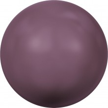 Crystal Pearl (large hole) 16mm Crystal Burgundy Pearl