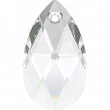 Pear-shaped Anhänger 38mm Crystal