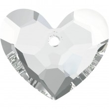 Truly in Love Heart Anhänger 36mm Crystal
