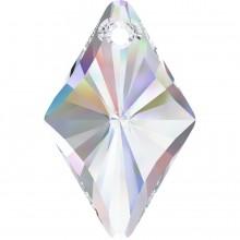 Rhombus Anhänger 27mm Crystal AB