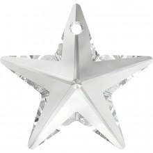 Star Anhänger 28mm Crystal