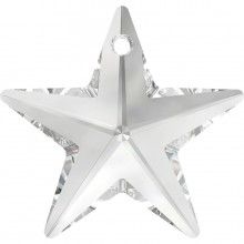 Star Anhänger 40mm Crystal