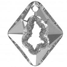 Growing Crystal Rhombus Anhänger 36mm Crystal