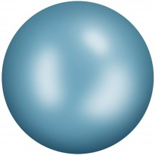 Ceramic Cabochon Hotfix ss10 Turquoise Blue HF