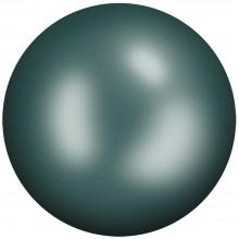 Ceramic Cabochon Hotfix ss30 Emerald HF