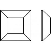 Square Hotfix 3mm Crystal AB HF