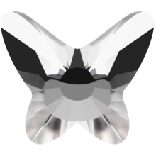 Butterfly Hotfix 8mm Crystal HF