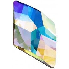 Rhombus Strassstein 10x6mm Crystal AB F (00030AB)