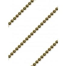 Perlborte Rund 4mm gold