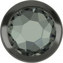 Xirius Rose Framed Hotfix Strass ss16 Black Diamond HF (HF215) Gun Metal Ring (GM)
