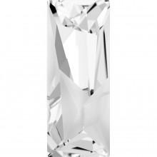 Kaputt Baguette Fancy Stone teilweise mattiert 29x11.5mm Crystal F