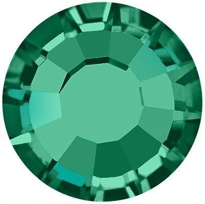 Rose Hotfix Strass bleifrei ss16 Emerald HF