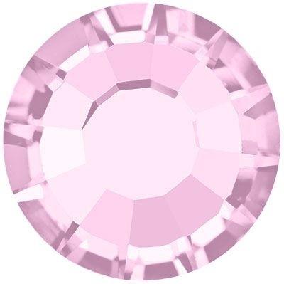 Rose Hotfix Strass bleifrei ss16 Light Amethyst HF