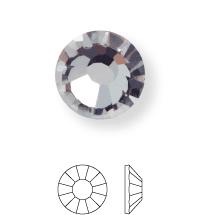 Rose Hotfix Strassstein ss10 Black Diamond HF
