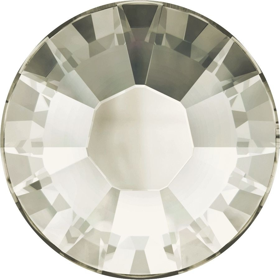 Xilion Rose Hotfix Strass ss10 Crystal Silver Shade HF
