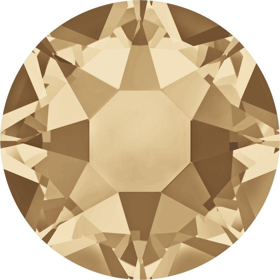 Xirius Rose Hotfix Strass ss16 Crystal Golden Shadow HF