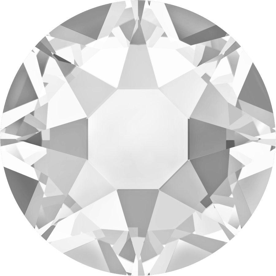 Xirius Rose Hotfix Strass ss16 Crystal HF