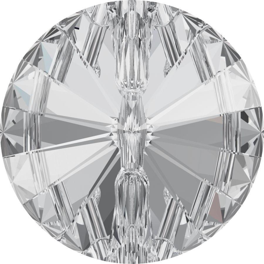 Rivoli Button 23mm Crystal F